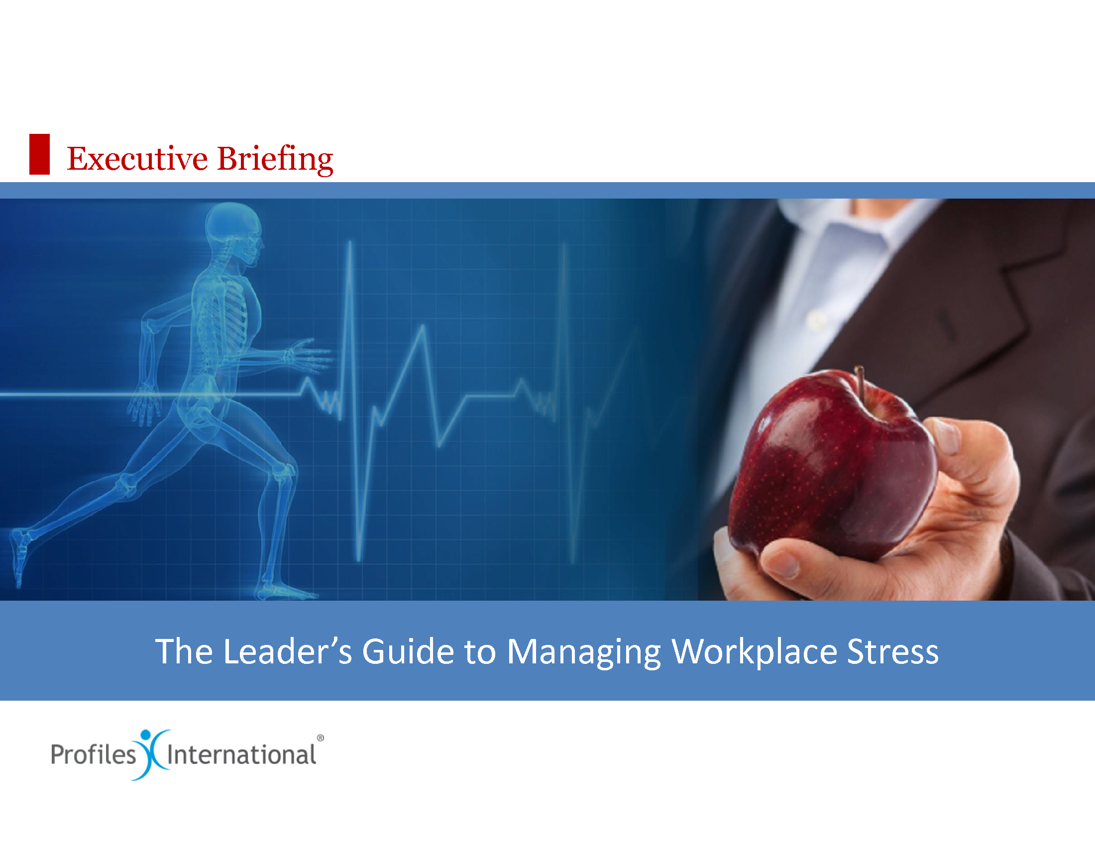 14-Leaders Guide to Managing Workplace Stress