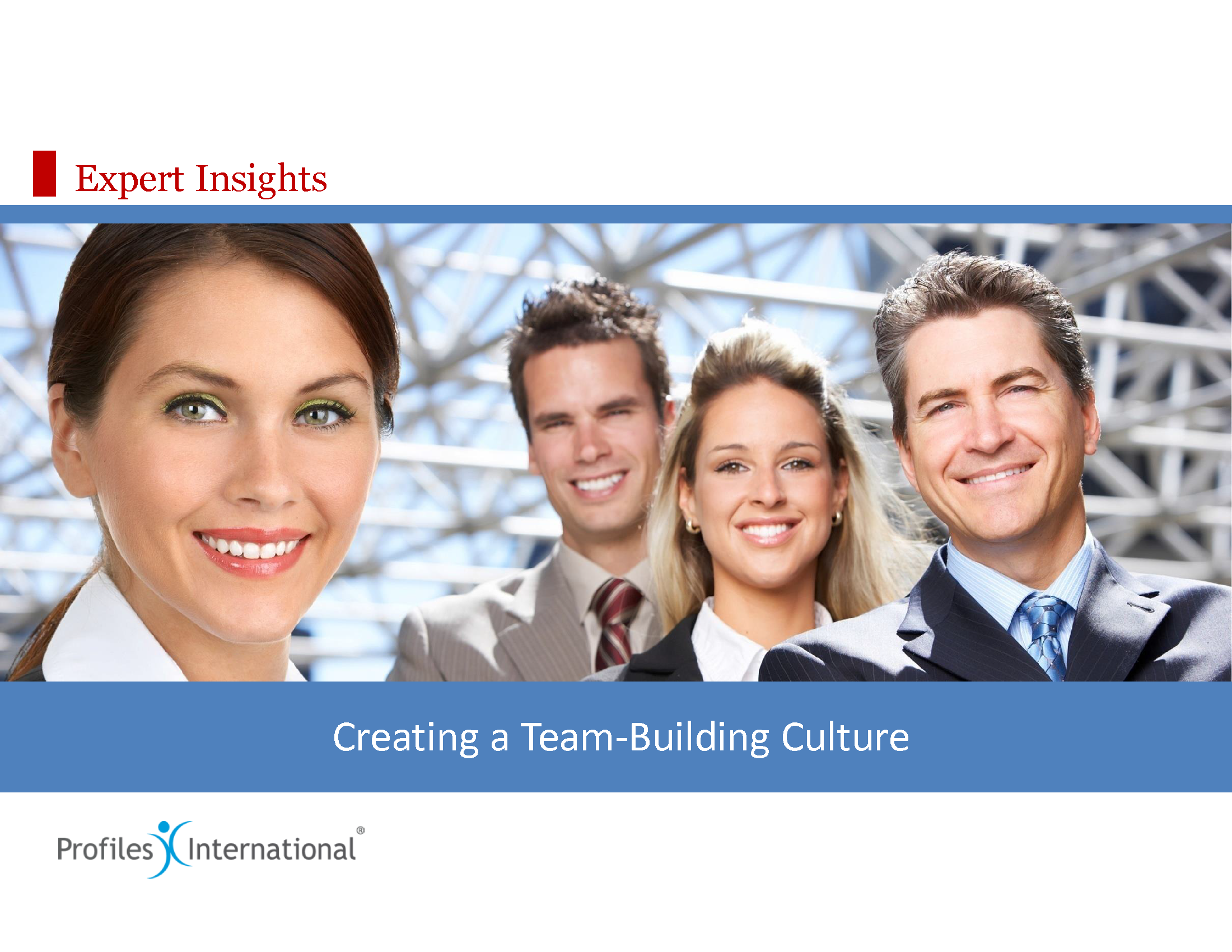 08-Creating a Team Building Culture